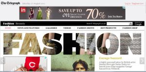 The Telegraph Social Shopping Platform